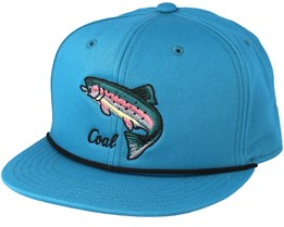 Wilderness Blue Snapback - Coal