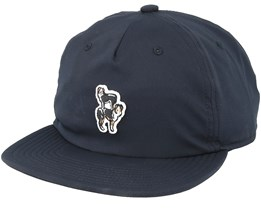 Sleepy Black Snapback - Coal