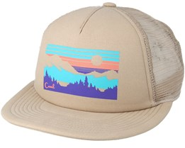 Seneca Khaki Trucker - Coal