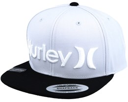 One & Only Grey/Black Snapback - Hurley
