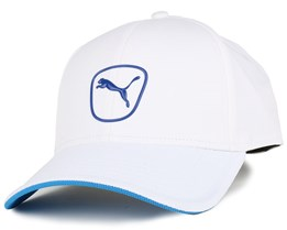 Cat Patch 2 White/Blue Adjustable - Puma