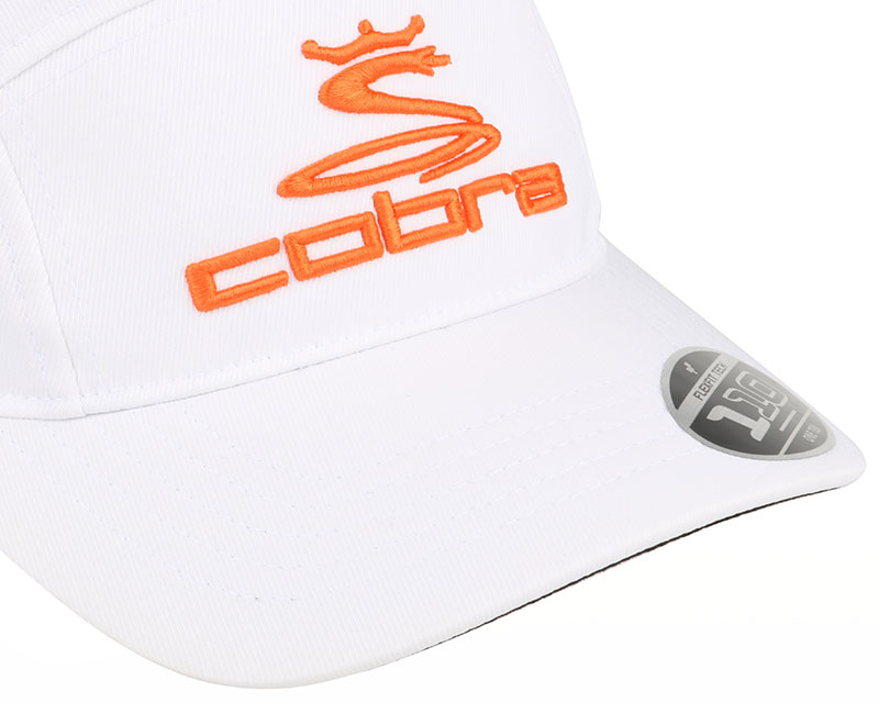 tour white orange 110 5 panel cobra casquette. Black Bedroom Furniture Sets. Home Design Ideas