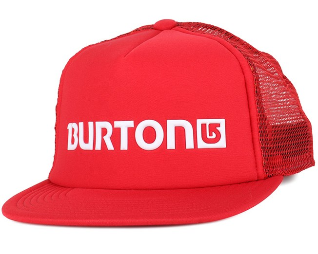Shadow Mars Red Snapback - Burton