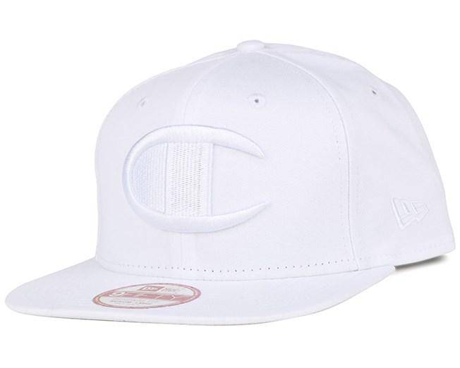 Reverse Weave Logo White 9Fifty Snapback - Champion