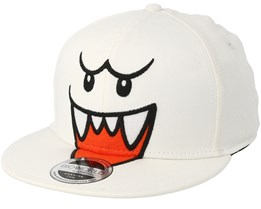 Nintendo Boo White Fitted - Bioworld