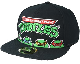 Teenage Mutant Ninja Turtles Black Snapback - Bioworld