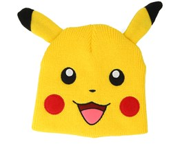 Pokémon Pikachu Ears Yellow Beanie - Bioworld