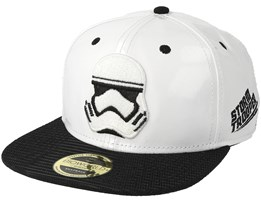 Star Wars Storm Trooper Embroidery White Snapback - Bioworld