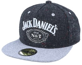 Jack Daniel´s Bottle Logo Dark Grey Snapback - Bioworld