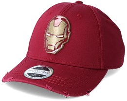 Avengers Iron Man Copper Badge Red Adjustable - Bioworld