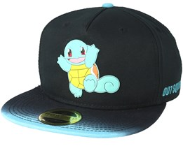 Pokémon Dip Dye With Rubber Squirtle Patch Snapback - Bioworld