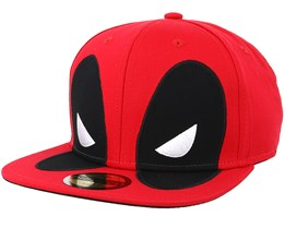 Deadpool Big Face Red Snapback - Bioworld