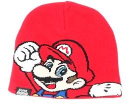 Nintendo Super Mario Kids Red Beanie - Bioworld