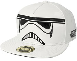 Star Wars Stormtrooper Inspired White Snapback - Bioworld
