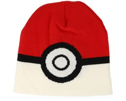 Pokémon Pokeball Red/White Beanie - Bioworld