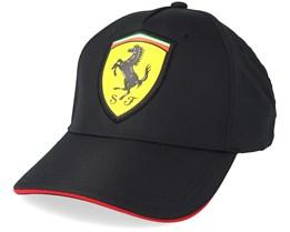 Scudetto Carbon Cap Black Adjustable - Ferrari