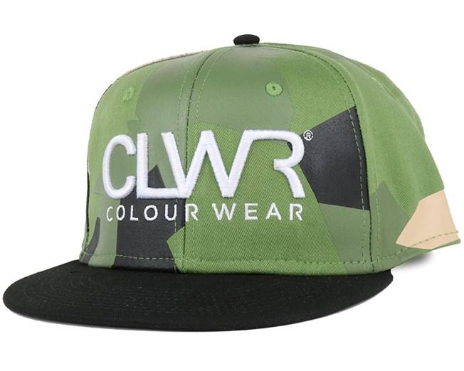 CLWR Asymmetric Olive Snapback - Colour Wear