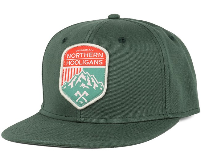 Outdoor Div. Warm Green Snapback - Northern Hooligans