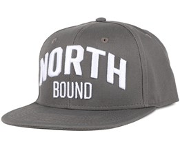 North Bound Charcoal Snapback - Northern Hooligans
