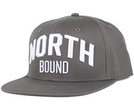 North Bound Charcoal Snapback - Northern Hooligans
