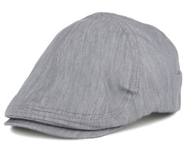 Newton Duckbill Grey Flap Cap - State Of Wow