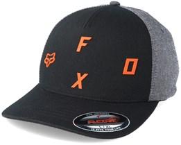 Tri Stack Black Flexfit - Fox