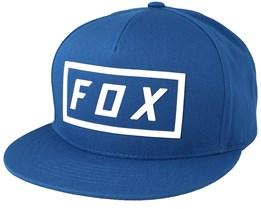 Fumed Blue Snapback - Fox