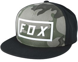 Fumed Camo Snapback - Fox