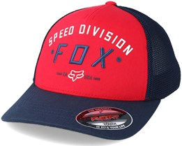 Youth Speed Division Dark Red Flexfit - Fox