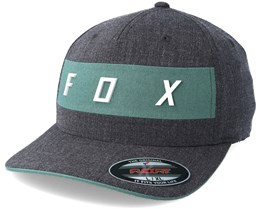 Set in Heather Black Flexfit - Fox