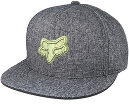 Copius Heather Black Snapback - Fox