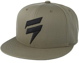 Corp Fat Green Snapback - Shift