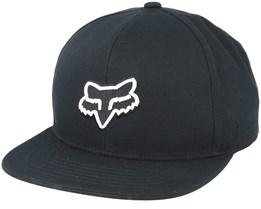 Legacy Black Snapback - Fox