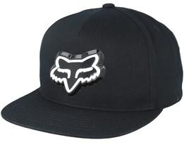 Ingratiate Black Snapback - Fox