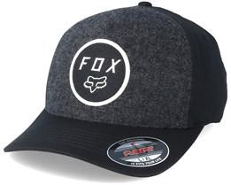 Settled Black Flexfit - Fox