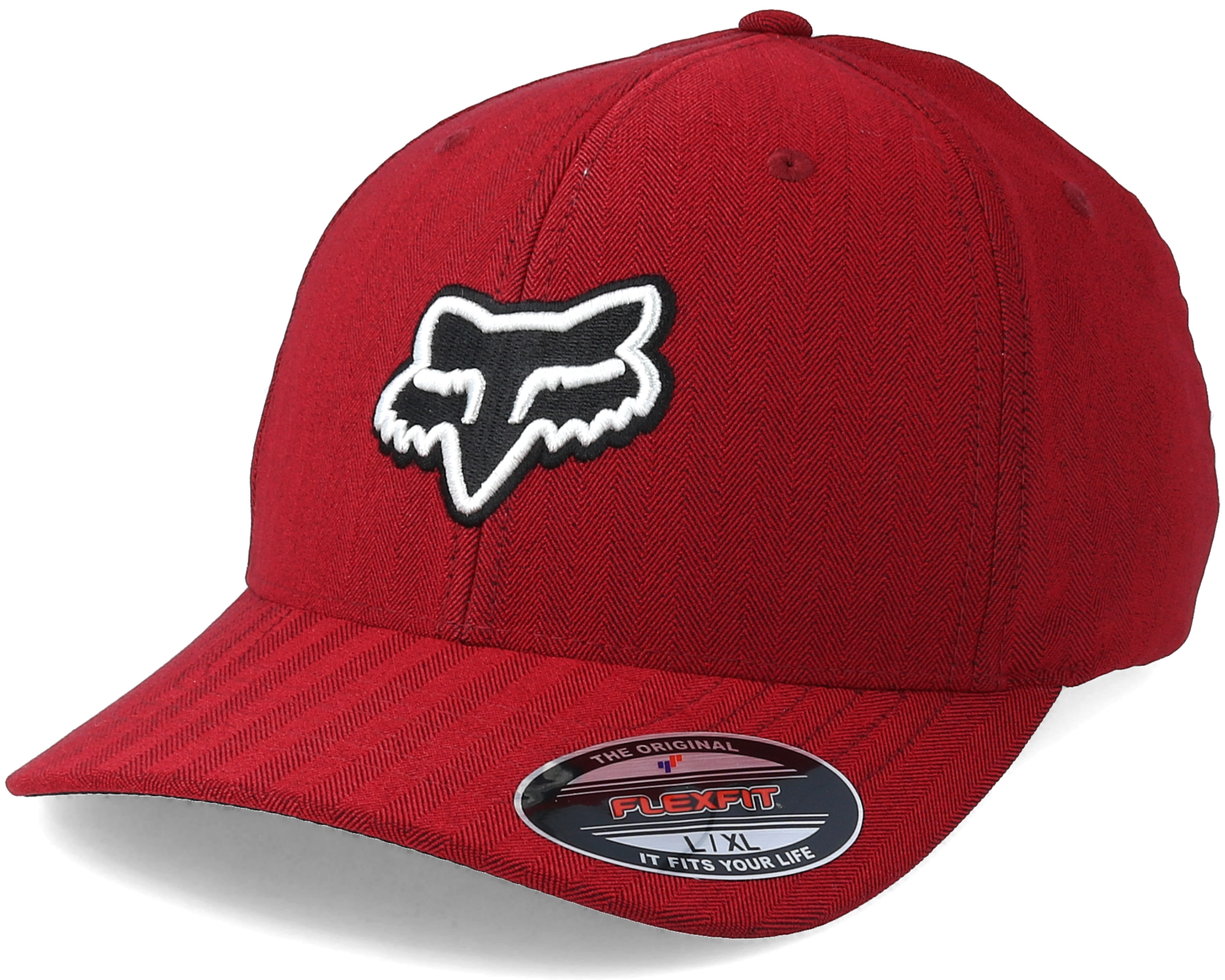 Transfer Red Flexfit - Fox lippis - Hatstore.fi 8c62f92d93