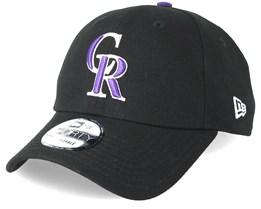 Colorado Rockies The League 9Forty Black Adjustable - New Era