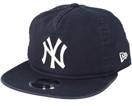New York Yankees Chain Stitch Navy Snapback - New Era