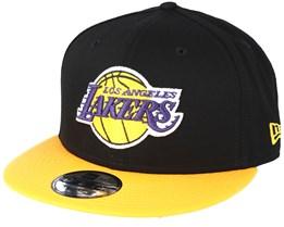 Los Angeles Lakers Base 9Fifty Black Snapback - New Era