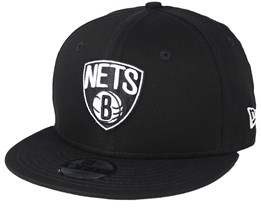 Kids Brooklyn Nets Team Classic Jr Black Snapback - New Era
