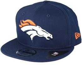 Denver Broncos  Team Classic Navy Snapback - New Era