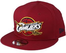 Cleveland Cavaliers  Team Classic Burgundy Snapback - New Era