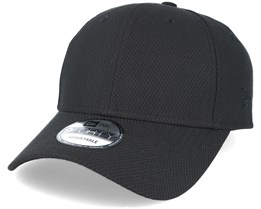 Diamond Essential 9Forty Black Adjustable - New Era