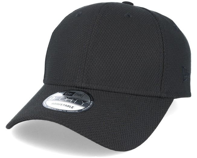 Diamond Essential 9Forty Black Adjustable - New Era - casquette    Hatstore.fr 0b8324484fe5