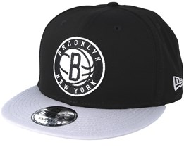 Brooklyn Nets Base 9Fifty Black Snapback - New Era