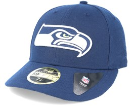 Seattle Seahawks Team Classic Low Profile 59Fifty Navy Fitted - New Era