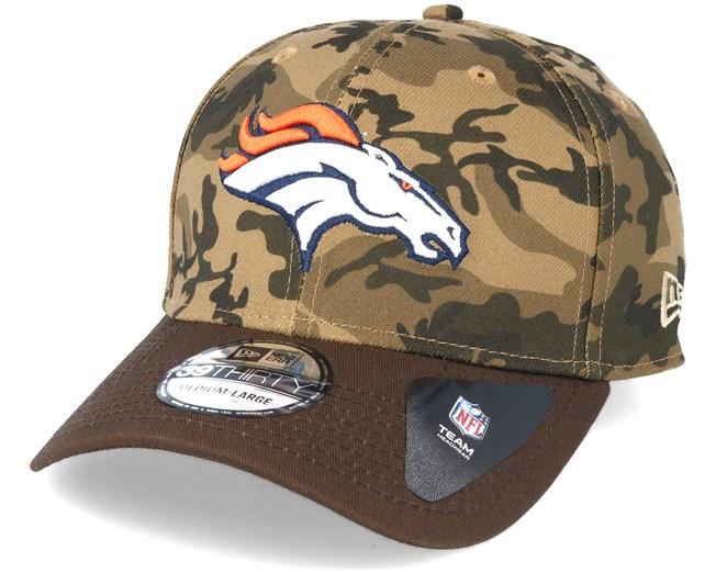 Denver Broncos Team Stretch Camo 39Thirty - New Era caps  b23a85edb093