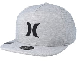 Dri-Fit Icon Grey Snapback - Hurley