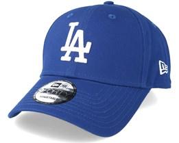 Los Angeles Dodgers League Essential 9Forty Blue Adjustable - New Era