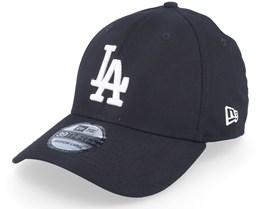 Los Angeles Dodgers League Essential 39Thirty Black/White Flexfit - New Era
